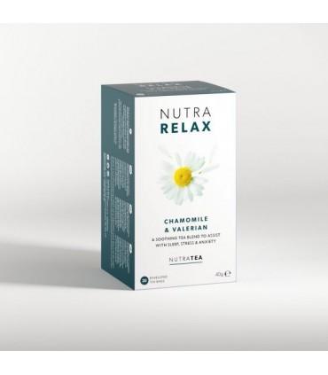 НутраРелакс чай филтър х 20