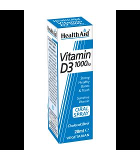 Витамин D3 спрей 1000IU 20 мл на Хелт Ейд